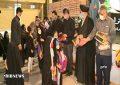 اهداء روسری به دختران زیر ۱۰سال ورامینی