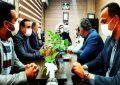 بازدید بخشدار قلعه نوازکلانتری ۲۱۱قلعه نو به مناسبت هفته نیروی انتظامی