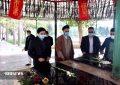 برگزاری مراسم عطرافشانی و گلباران شهدا گمنام ملارد