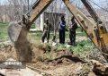 توقیف دستگاه حفاری غیر مجاز در فیروزکوه